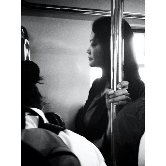IGDaily Igmanila Ig_philippines Monochrome_asia Streetstyle Streetphotography Bnw_city Bnw_manila Bnw_philippines Train Stranger of the day
