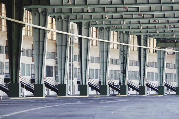 Templehof Airport Faccette Architecture Concrete