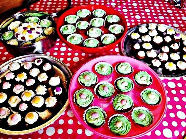 Cup Cakes Easter My Baking