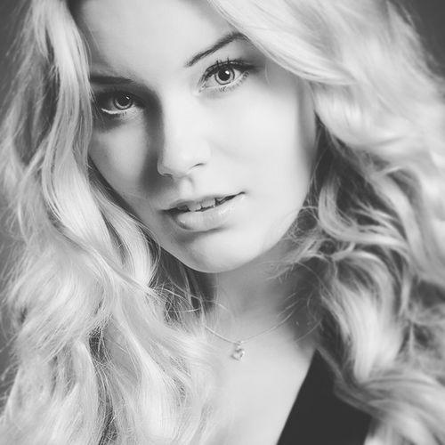 Close Up Beauty Portrait Portrait Of A Woman