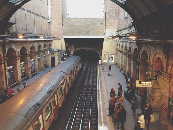 Subway London Eye4photography  Taking Photos platform 9 ¾ ahahah