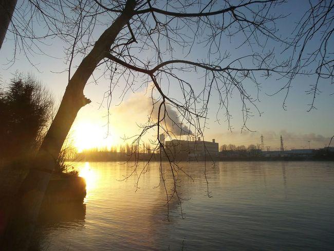 Ile Verte Juziers Morning Goodmorning Sun