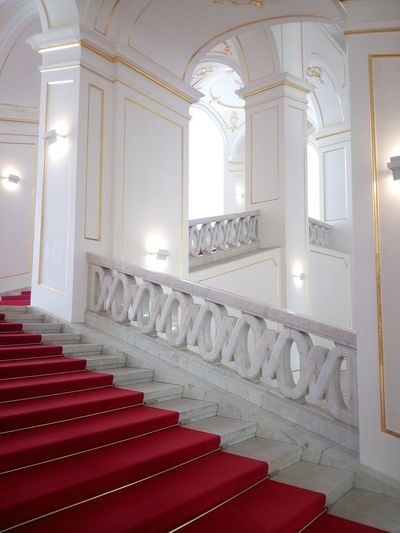 Bratislava Hrad Staircase Architecture Steps Indoors  Steps And Staircases Ornate Elégance