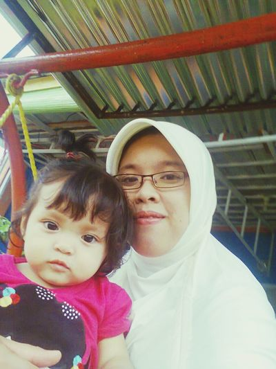 With my lovely princess, Meyza First Eyeem Photo