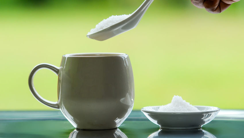 Close-up Crockery Cup Drink Eating Utensil Focus On Foreground Food And Drink Freshness Hot Drink Human Hand Indoors  Kitchen Utensil Mug Refreshment Spoon Still Life Table Tea Tea - Hot Drink Tea Cup
