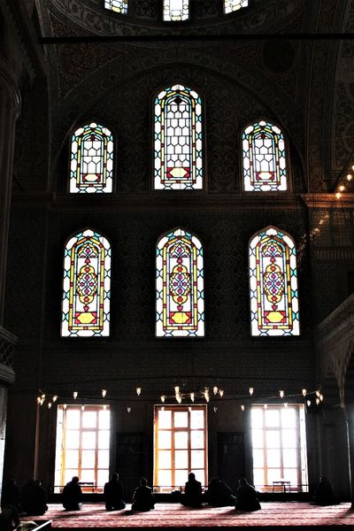 pray Window Architecture Built Structure Indoors  Travel Destinations Multi Colored Day