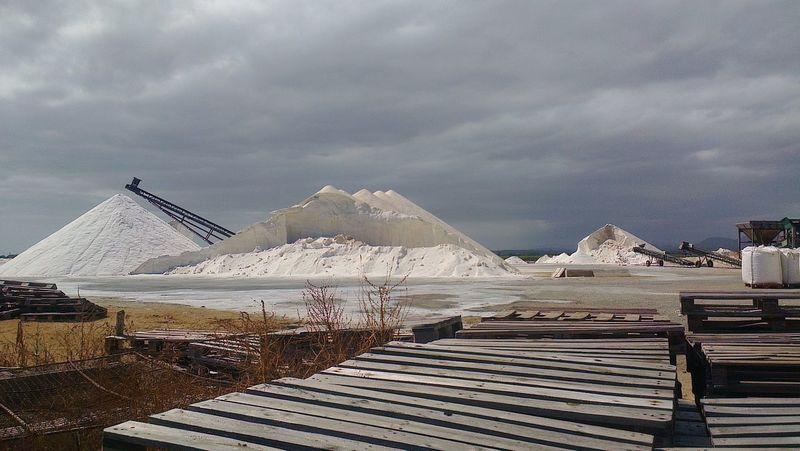 Salz Salt Salzberg Salt Mountain Ses Salines Flor De Sal Meersalz Sea Salt Sea Salt Farm Mallorca