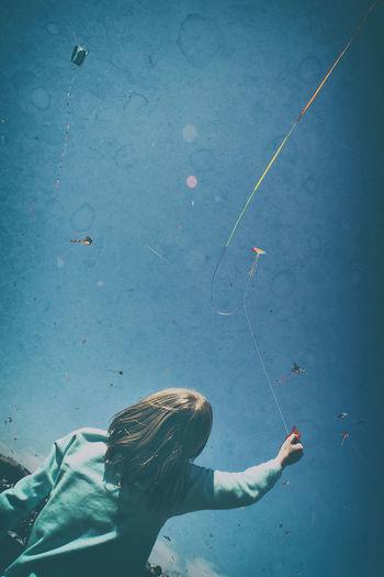 Blossom Kite Festival Kites Washington State Washington, D. C. Playing Sky Washingtonmonument Young Girl Summer Exploratorium
