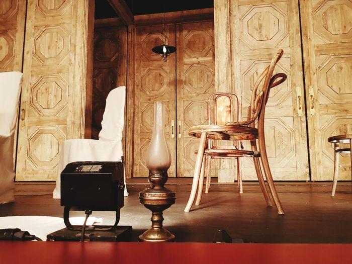 Theatre always in trend Antique Architecture Old-fashioned Furniture No People Theatre Performance Winter Wonderland Winner