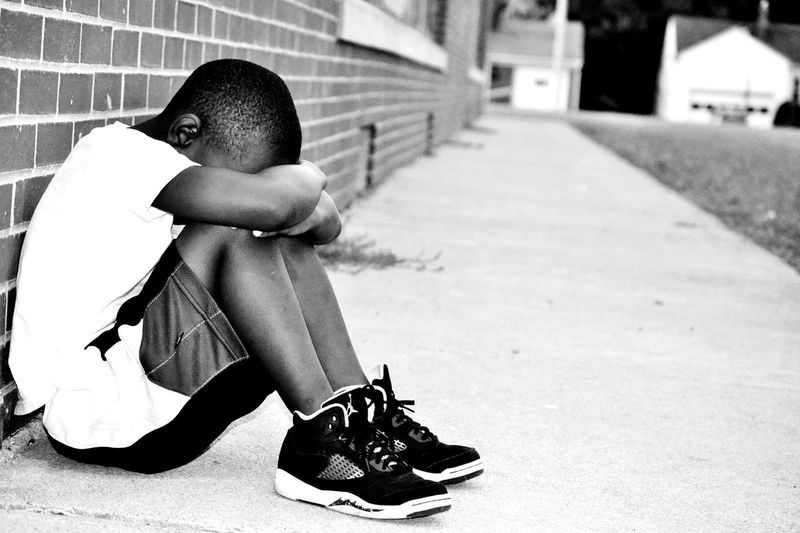 I'm new here. I'm also I photographer. I take many photos and trust me this isn't even my best. But when I took this photo it just reminded me of a child in recess bored, lonely,bullied. So this photo is dedicated to all of the children that get bullied and No one not even their parents believe them. The ones Who Don't get a say, the ones who lives in the shadow of another,the one who is being abused and/or neglected. The ones who are hopeless. Bullying No Bullying Abuse First Eyeem Photo