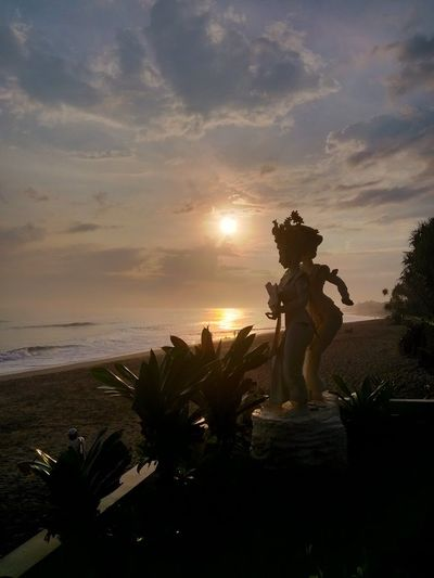 Smartphone Xiaomi Mi2, Sunset Bali, Indonesia Art And Craft Travel Statue Sculpture Tree Sunset Tourism Cultures No People Plant History Arrival Architecture Landscape Nature Outdoors Xiaomi Mi2