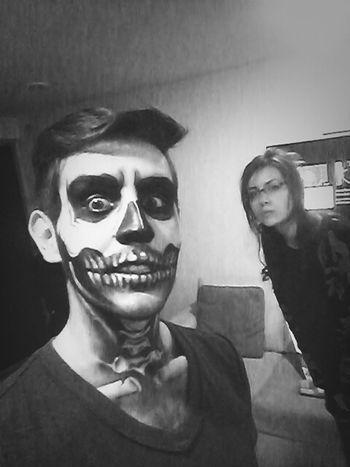 Party Make Up Skeleton Disfraz
