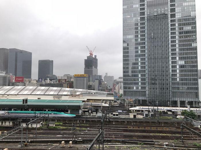 Shinkansen Tokyo Station Building Exterior Financial District  Mode Of Transportation Office Building Exterior Rail Transportation