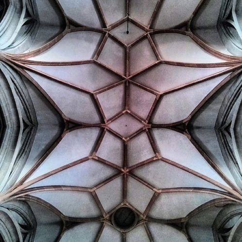 Tonnengew ölbe Stephanskirche Braunau Inn