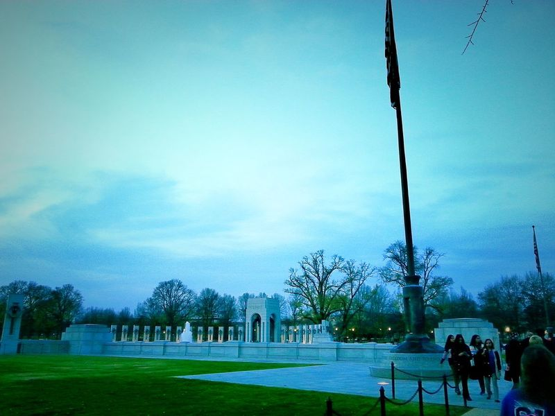 Camera 360 App Washington, D. C. Washington DC WashingtonDC WW II WW II Memorial WW II Monument People People Watching People Photography Group Group Of People Groups