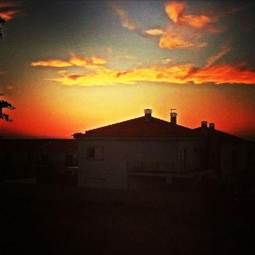 Sunset On My Roof