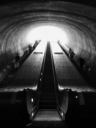 Adult Architecture Built Structure Commuter Day Illuminated Indoors  Large Group Of People Leisure Activity Lifestyles Men Modern People Public Transportation Rail Transportation Real People Subway Station Subway Train Transportation Tunnel Women
