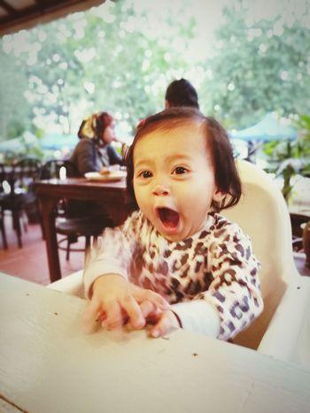 Where is my FOODS!!! Baby Girl Baby ❤ Babygirl ♥ Malaikaeliya MummydaddyloveUsomuch Cuteeee♥♡♥ Portrait Huaweibestwei Makeitpossible HuweiP9plus DualCamera Leica Lens Baby Babies Only Cute
