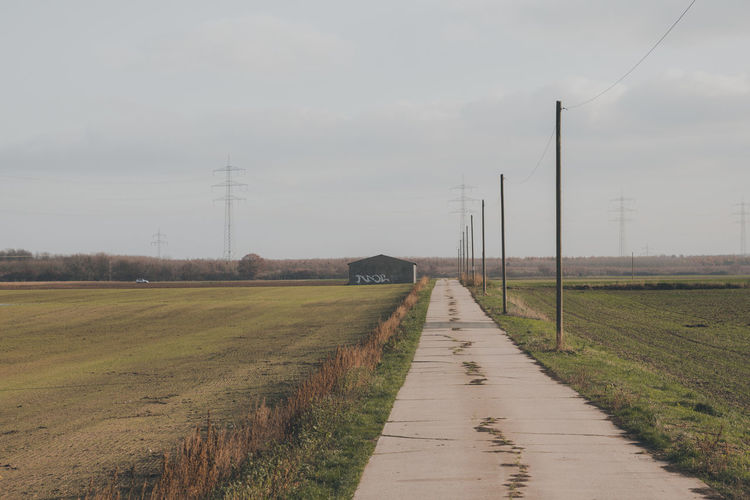 Sky Field Land