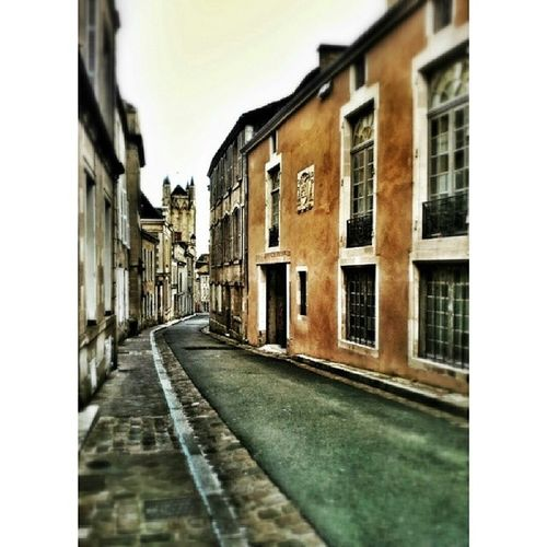 I am staying in this beautiful street in Poitiers for the next one month. At the end of the street is the Cathedral and the hourly chimes which can be heard from the flat and it feels so medieval. Loving the non stop French around me. Must improve my language skills. Fraaance Instafrance bonsoir peace love artsy february igers europefun share abode home beautiful poitiersbynight hdr rue street frenchstyle amazing scene view letswalk