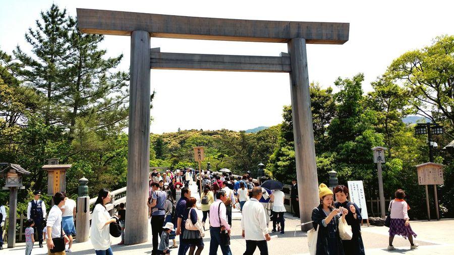 TORII Ise Ise Jingu Naiku Mie Japan Travel Trip Peace History Roots