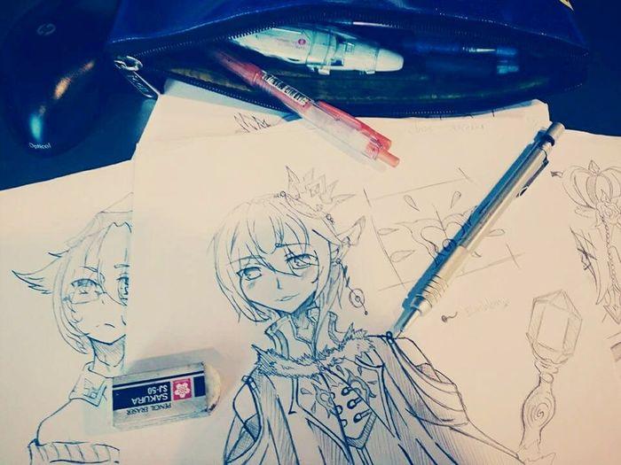 Art Sketches Drawing Originalcharacter