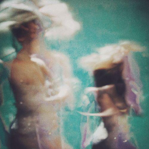 Digital composite image of people dancing
