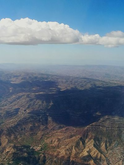Aerial View Blue Landscape Cloud - Sky No People Scenics The Great Outdoors - 2017 EyeEm Awards Beauty In Nature Planet Earth Outdoors Nature Sky Satellite View Day Flying High Marocco Photofromaplane EyeEm Best Shots EyeEm Gallery Sunlight And Shade Clouds Flying High. Flyinghigh Exeptional Photographs Mountains And Valleys Connected By Travel Perspectives On Nature