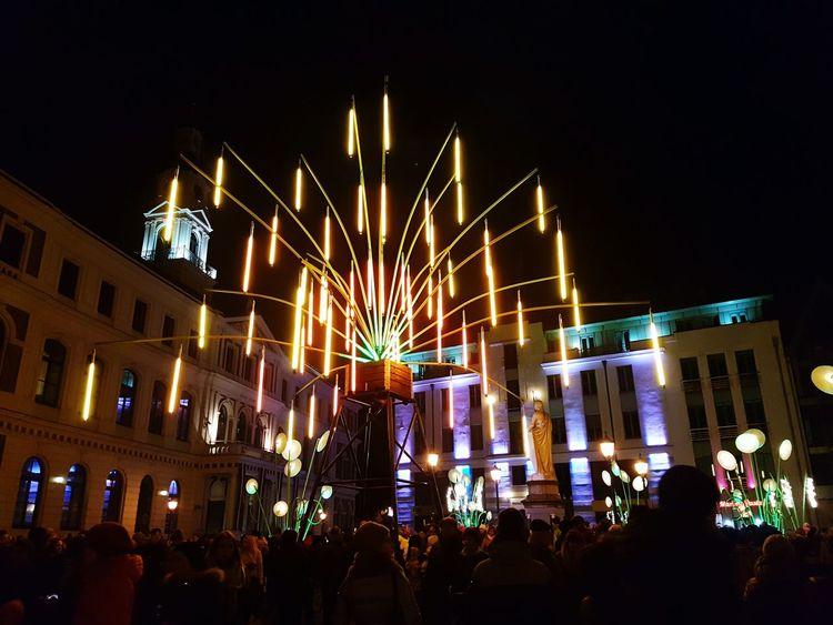 Illuminated Night Illuminated City Celebration Staroriga2016