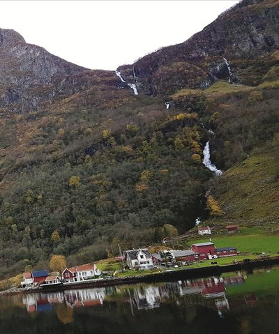 in the fjords, Norway. Gudvangen, a beautiful place Traveling Vacations Vacation Water Norway Gudvangen Fjords Fjord Noruega Fjordsofnorway Sailing Trip Colors Norway In A Nutshell