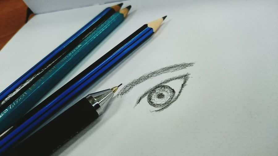 Sketch Of Human Eye