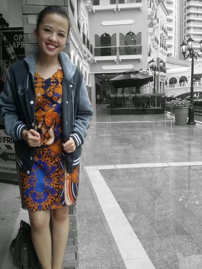Waiting for you. Girl Me Myself & I Pose Standing Raining Dress Style Outfit EyeEm Black And White Dull Make Up Color Splash Vibrance Behind Dullness Face Hello World Philippines