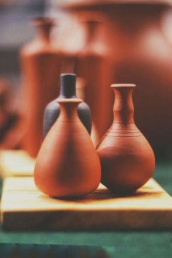 pottery Clay Earthenware Craft Art And Craft Brown Still Life Close-up Pottery Pot Molding A Shape Sculptor Terracotta Spinning Ceramics Blacksmith  Porcelain  Decorative Art Pour Spout Pagoda Decorative Urn Bagan Craft Product Stupa Myanmar Culture Jug Many Pitcher - Jug