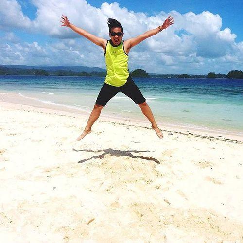 Jump high! 👍👌 Wanderlust Surigao Britaniaislands Unwind