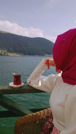 VSCO Cam Hijab Girl Hicab Tea - Hot Drink Table Vscocam Day