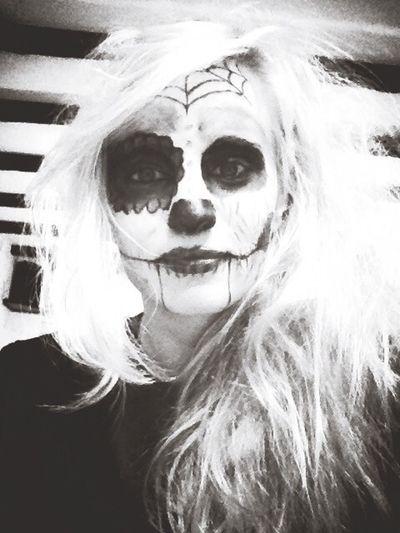 Selfie Halloween Horrors Halloween Makeup