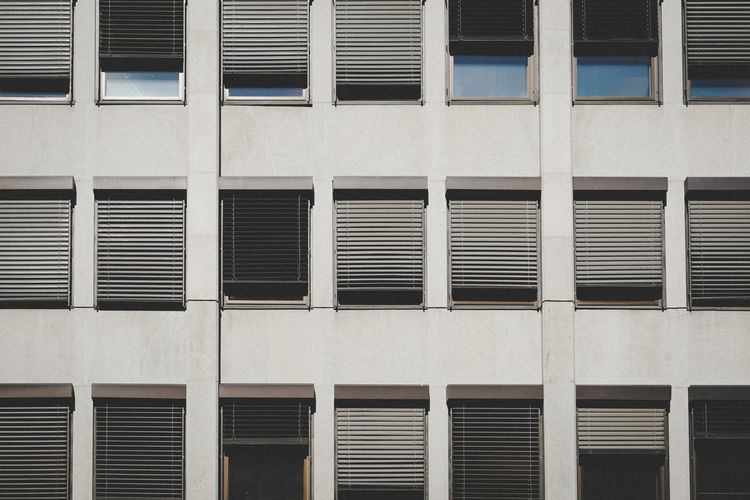 Architecture Backgrounds Building Building Exterior Built Structure City Day Full Frame Geometric Shape Glass - Material In A Row Low Angle View No People Outdoors Pattern Repetition Side By Side Wall - Building Feature Window