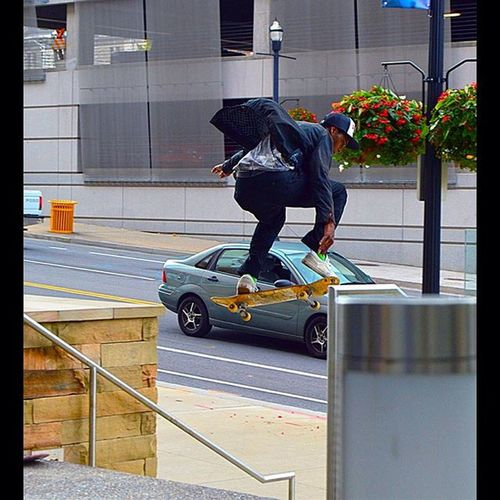 Just skating at the convention center. Skateboarding Sk8 Skate Sport Motion Fly Nikon Wizardcon Nashville Shutterspeed Convention Musiccitycenter The Street Photographer - 2016 EyeEm Awards Up Close Street Photography