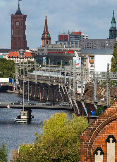 Berlin Berlin Photography City S-bahn Bridge Germany River Spree River Tower Discover Berlin