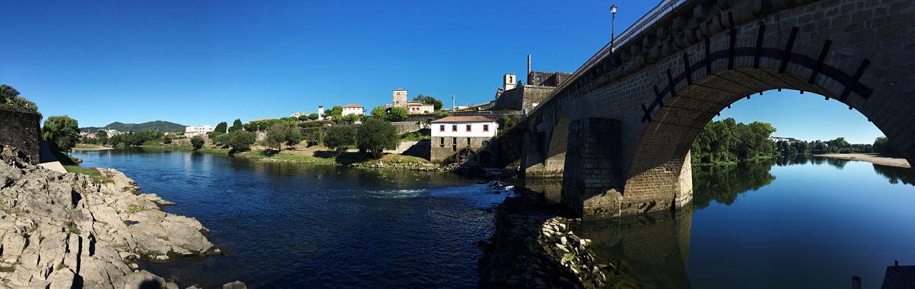 Rio Cávado, Barcelinhos CaminodeSantiago Riverside River View Cavado Barcelinhos Ponte De Barcelos