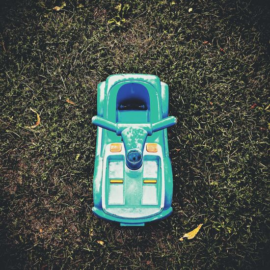 Toy cars Toys Children Playing Toy Car Children's Car Blue Toys Playground Outdoors IPhoneography