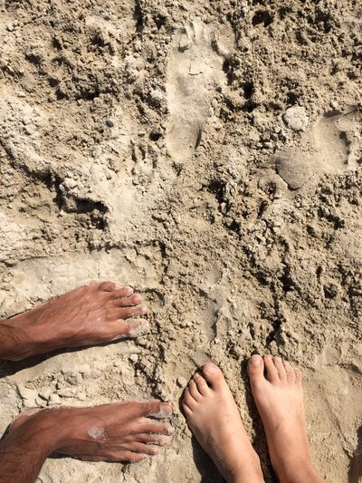 Barefoot Feet Sand Beach FootPrint Vacations Togetherness Big Feet And Small Feet Summer Two People Fun Your Ticket To Europe