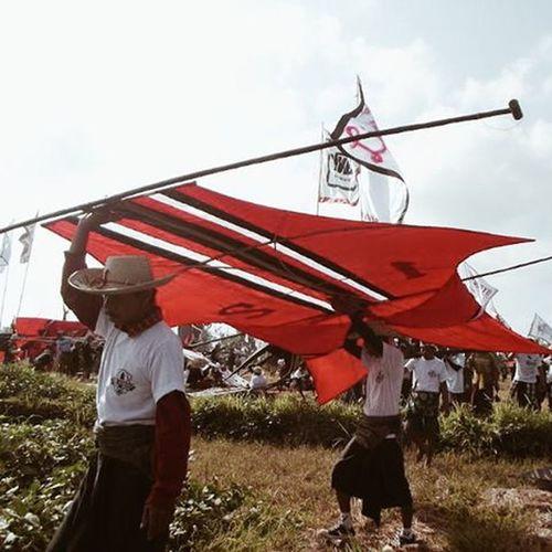Bersiap Menerbangankan layangan.... Vscocam Bali Layanglayang Layangan Layanganbali Bebean Bebeanlomba Lombalayangan Sekaalayangan Pasukanlayangan Ganecakitefestival Layangkhasbali