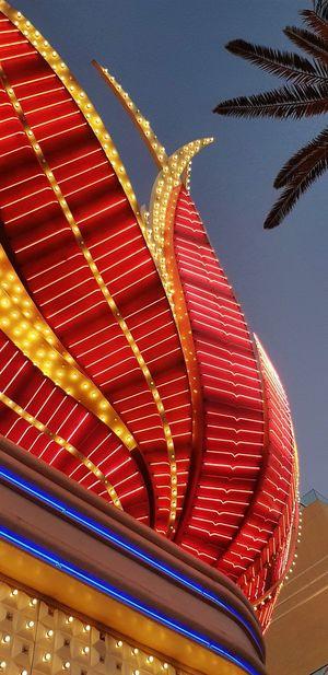 Vegas  EyeEm Selects Lasvegas HUAWEI Photo Award: After Dark City Sky Architecture Close-up Architectural Feature Architectural Detail Architecture And Art Building Skylight