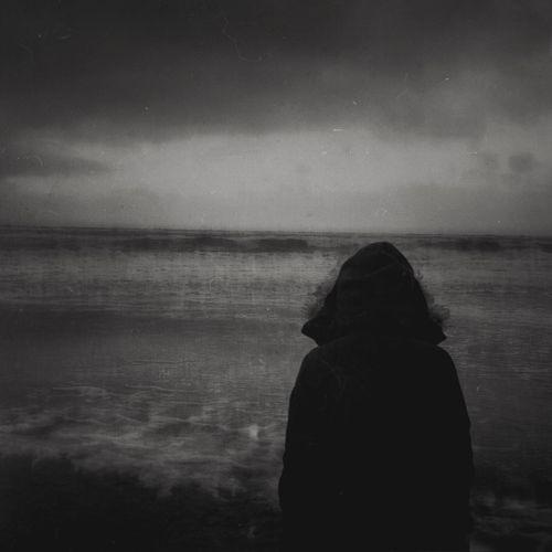 Remember Denmark Monotone Monotony NEM Landscapes Silhouette In A Quiet Moment Nordsee Denmark Seaside Blackandwhite