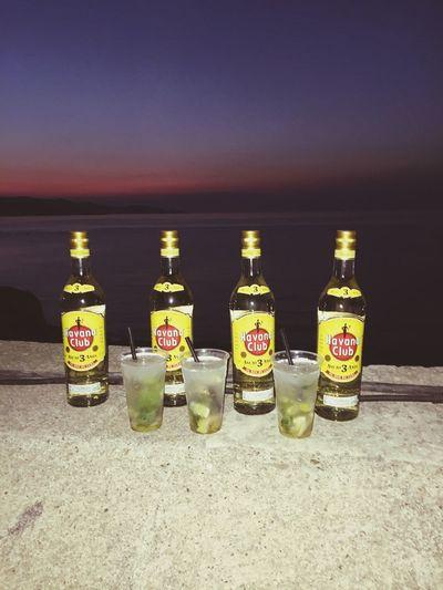 Havana Rhum Mojito! Stflorent Corsica Sunset Clouds And Sky Portolatino