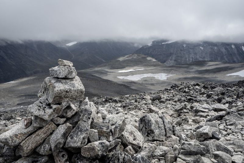 Galdhøpiggen, northern Europe's highest mountain. Nature EyeEmNewHere EyeEm Nature Lover Norway Mountains Galdhøpiggen Jotunheimen Mountain Beauty In Nature Nature Tranquility Scenics - Nature Tranquil Scene Non-urban Scene Mountain Range Cloud - Sky Landscape Rock Environment