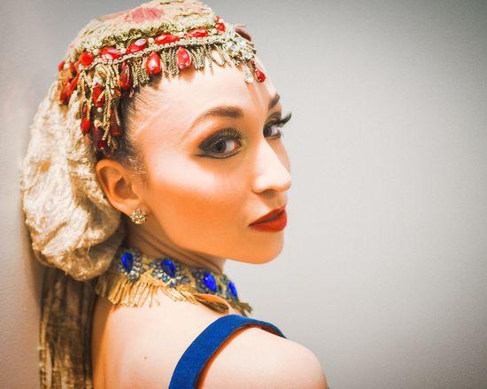 Meagan New York City Ballet Ballerina Portrait Close-up Colors Beauty Portrait Of A Woman Color Portrait Makeup