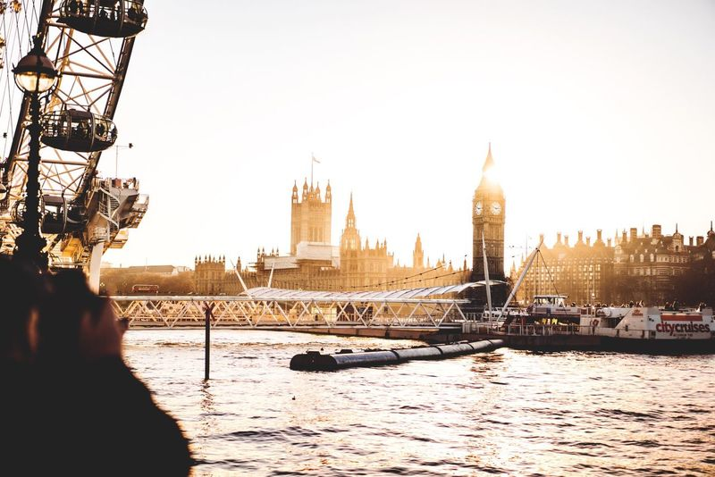 The one and only. London Bigben LondonEye Sunset Architecture Travel River City Tourism Cityscape Travel Adventure Explore Travel Destinations Cultures