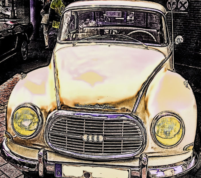 Auto Union Car Day DKW Germany No People Oldie  Outdoors